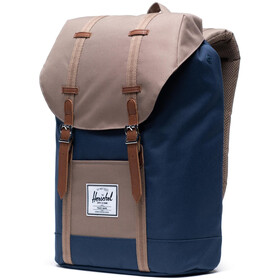 Herschel Retreat Backpack 19,5l navy/pine bark/tan